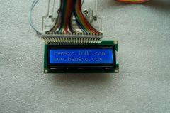 LCD1602 LCD blue film character dot matrix LCD screen (modul