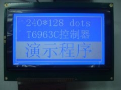 LCD240128 dot matrix LCD blue film liquid crystal display (m