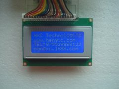 LCD1604 blue film White iron frame LCD the LCD IC KS0066